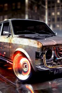 320x480 Burning Wheels Extreme Drift