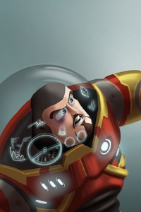 1440x2960 Buzz Lightyear As Iron Man And Sheriff Woody As Captain America
