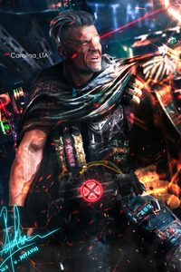 360x640 Cable Deadpool 2 4k Artwork