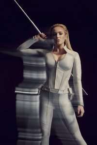 480x800 Caity Lotz In Legends Of Tomorrow 2019