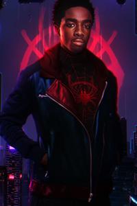 Caleb McLaughlin Miles Morales Spider Man