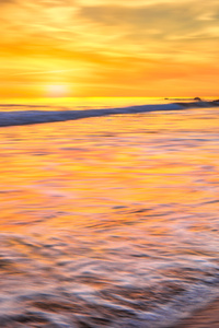 750x1334 California Ocean New Port Beach Long Exposure 5k