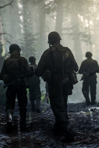 1242x2688 Call Of Duty WW2 2017