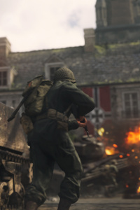 1242x2688 Call Of Duty Ww2 War