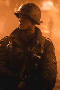 1242x2688 Call Of Duty WWII Soldier