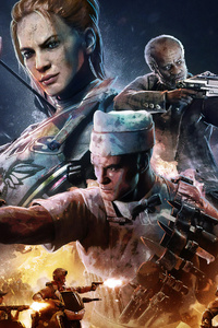480x854 Call Of Duty Zombies Poster