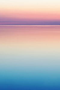 750x1334 Calm Peaceful Colorful Sea Water Sunset