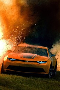 Camaro In Transformers Movie