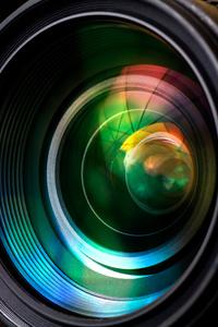 360x640 Camera Lens Closeup