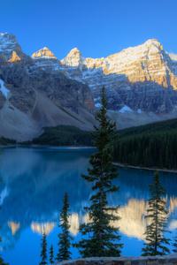480x800 Canada Mountains Parks Lake Moraine 5k