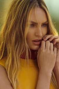 Candice Swanepoel Animales Summer Garden Campaign Photoshoot