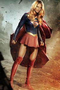 1440x2960 Candice Swanepol Supergirl
