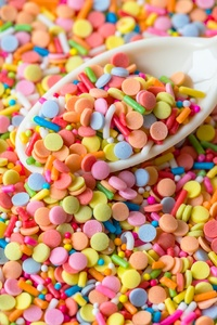 320x480 Candies Scoop Colorful Sprinkles