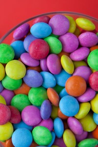 540x960 Candy Colorful Bowl