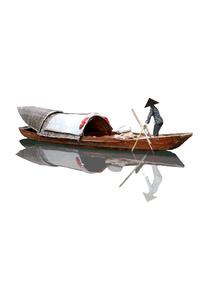 Canoes Boat Japanese 4k