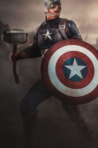 640x1136 Captain America 2020 4k New