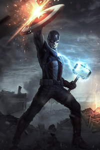320x568 Captain America 2020 Artworknew