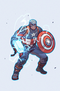 640x1136 Captain America 2020 Hammer