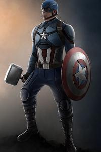 1280x2120 Captain America 2020