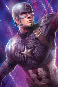 1125x2436 Captain America 2020 New