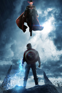 1125x2436 Captain America 4k 2020