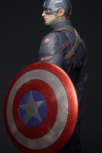 360x640 Captain America 4k 2020 Artwork
