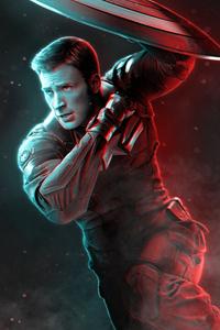 Captain America 4k Art