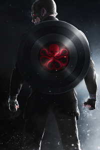 Captain America 4k Hydra