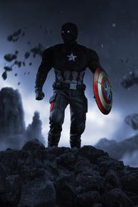 750x1334 Captain America After Storm 4k