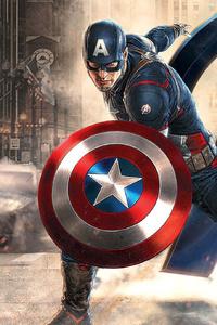 Captain America Avengers Artwork