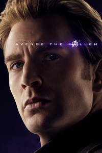 Captain America Avengers Endgame 2019 Poster