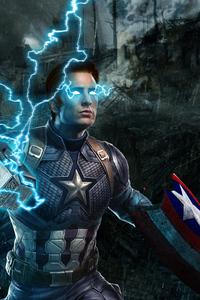 Captain America Avengers Endgame 4k