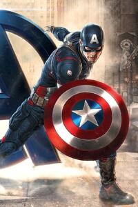 640x960 Captain America Avengers
