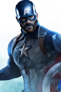 Captain America Beard Artwork