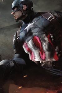 Captain America Black Widow Ant Man Artwork