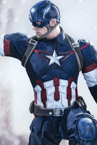 Captain America Civil War 5k New