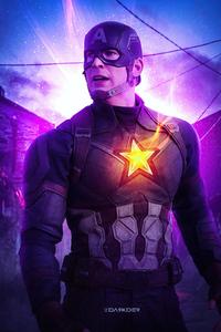 750x1334 Captain America Civil War Fanart 4k