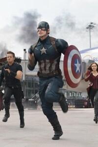 Captain America Civil War Fight Scene