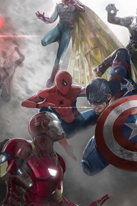 Captain America Civil War Movie Artwork