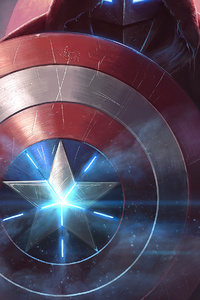 640x960 Captain America Contest Of Champions 4k