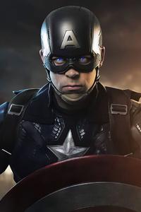 1125x2436 Captain America Cosplay Girl 4k