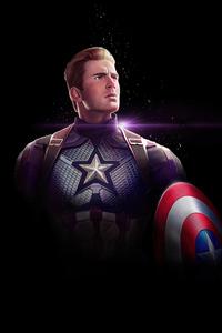 480x800 Captain America Dark 4k