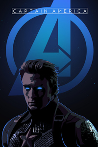 Captain America Endgame Art