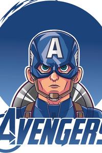 640x960 Captain America Endgame