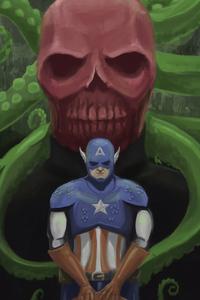 640x960 Captain America Hail Hydra