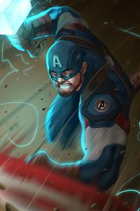 Captain America Hammer4k