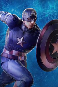 640x1136 Captain America Hong Kong Disneyland