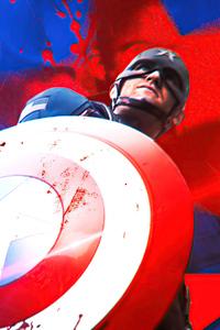 1125x2436 Captain America Illustrator 4k