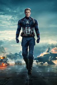Captain America In Avengers 4