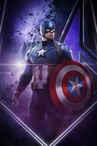 2160x3840 Captain America Infinity War 4k